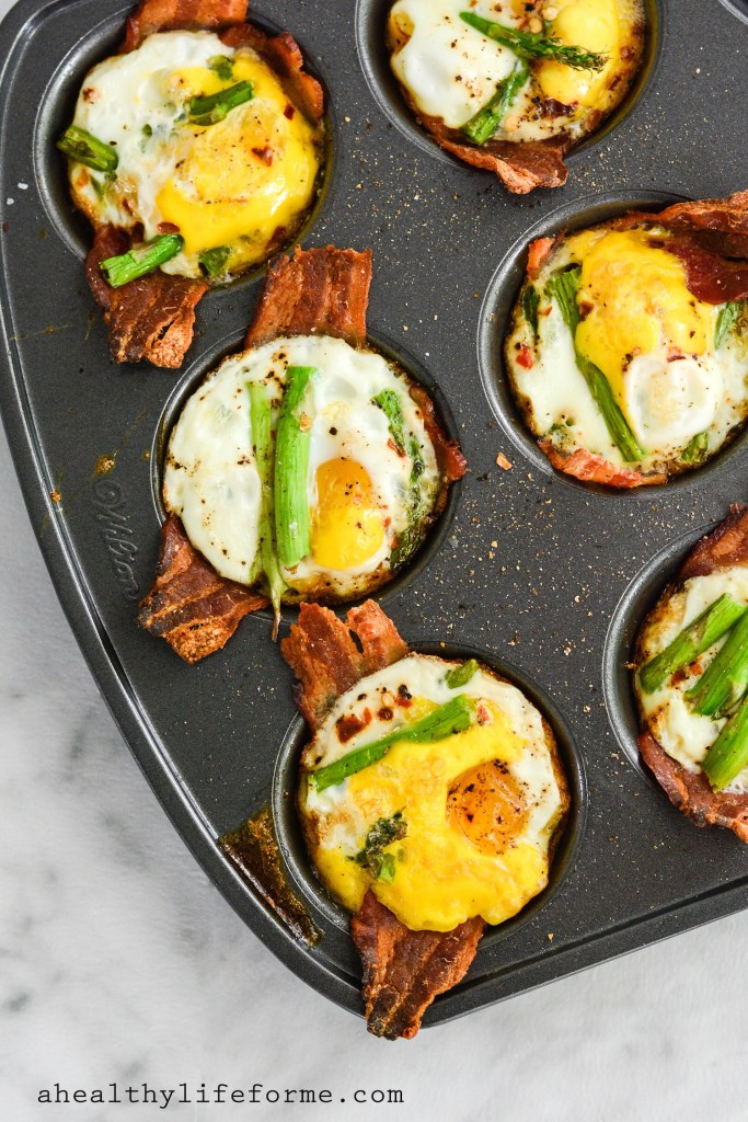 Protein packed paleo egg cups. Pin Me and Eat Mindfully!