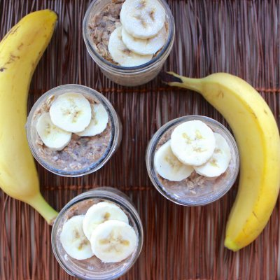 Shake and Go Peanut Butter Overnight Oats. Pin Me!